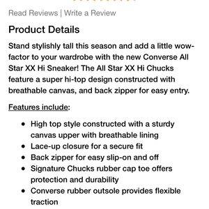 Converse Shoes - Chuck Taylor XXHI Converse